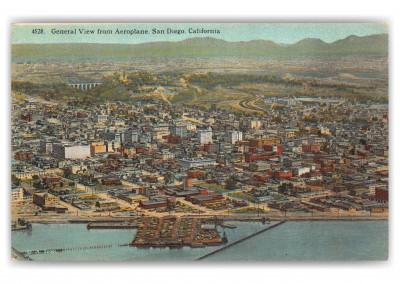 San Diego, California, general view of town