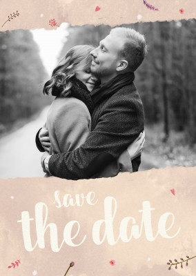 SegensArt Postkarte Save the date