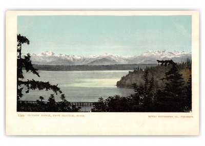 Seattle, Washington, Olympic Range