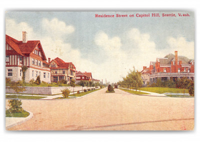 Seattle, Washington, Residence section on capitol hill