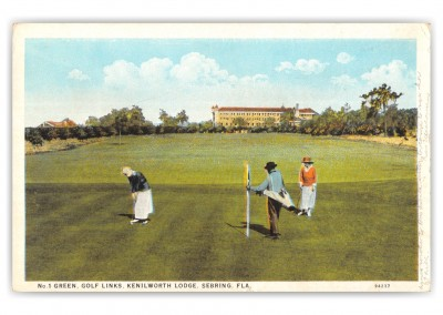 Sebring, Florida, Golf Links, Kenilworth Lodge