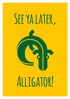 Alligator Grafik
