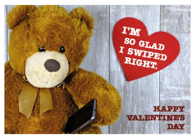 photo teddy bear with mobile