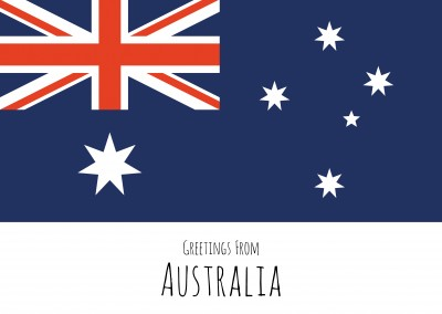 graphic flag Australia