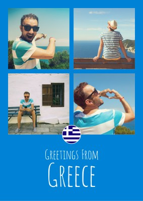 Meridian Design Greetings From Greece