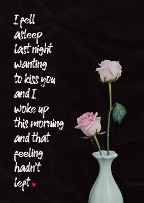 photo quote I want to kiss you