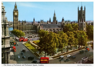 The John Hinde Archive photo Parliament Square, London