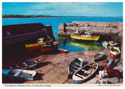 John Hinde photo d'Archive Du Port, Fethard-sur-mer