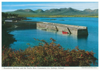 The John Hinde Archive photo Roundstone Harbour & the twelve benns, Connemara