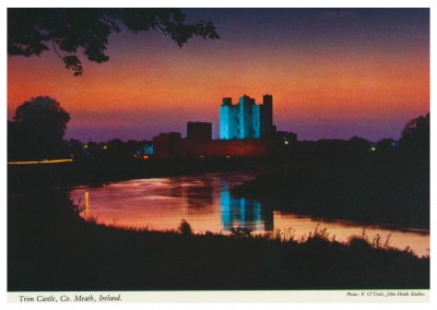 The John Hinde Archive photo TTrim Castle, Co.Meath, Ireland