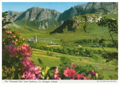 The John Hinde Archive photo Poisoned Glen, Dunlewy, Donegal County