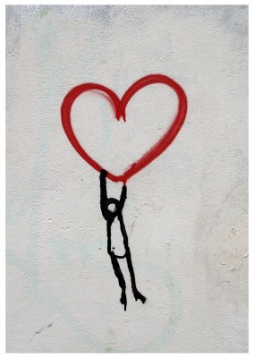 photo street-art heart