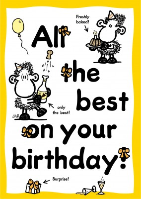 Sheepworld All the best on your birthday