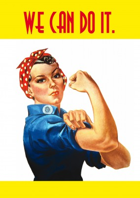 Rose the Riveter illustrazione
