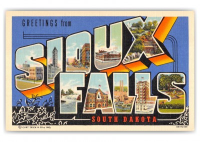 Sioux Falls, South Dakota, Greetings from (1)