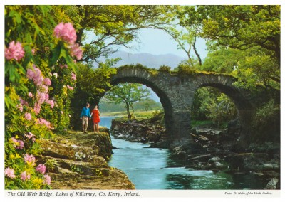 John Hinde Arkiv foto Old Weir Bridge