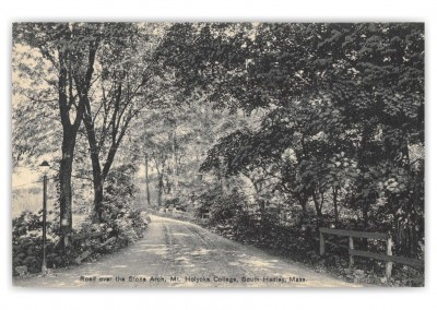South Hadley, Massachusetts, Road over Stone Arch, Mt. Holyoke College