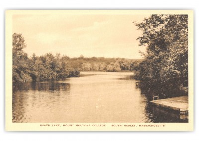 South Hadley, Massachusetts, Upper Lake, Mount Holyoke College