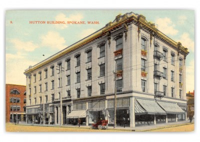 Spokane, Washington, Hutton Building