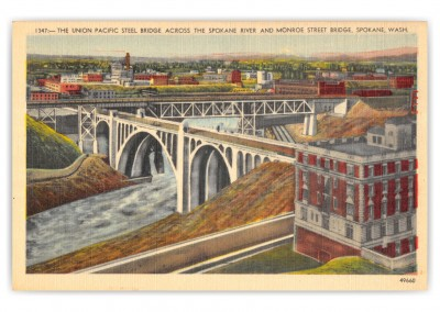 Spokane, Washington, The Union Pacific Steel Bridge