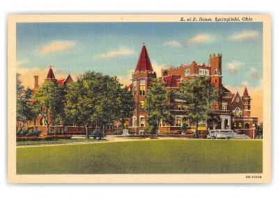 Springfield, ohio, K. P. Home