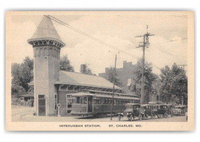 St. Charles Missouri Interurban Station