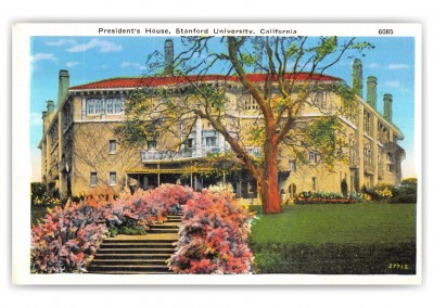 Stanford, California, Presidents House, Stanford University