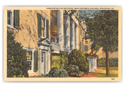 Staunton, Virginia, Administration building, mary baldwin College