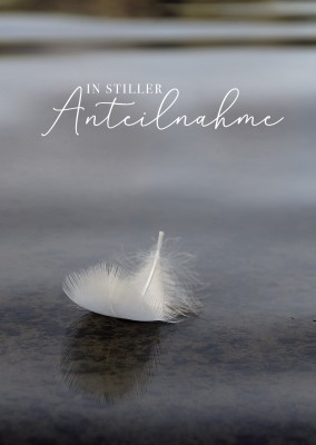 GREETING ARTS in stiller Anteilnahme