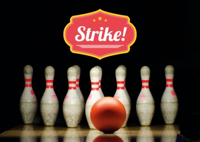 bowling photo strike