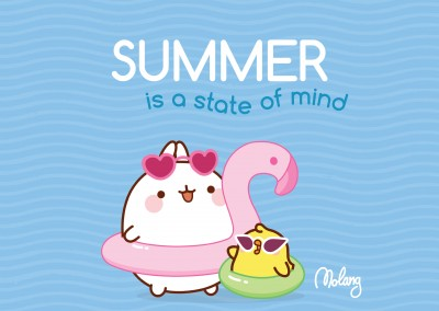 Summer is a state of mind! - MOLANG