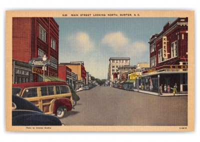 Sumter, South Carolina, Main Street looking north
