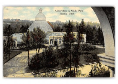 Tacoma, Washington, Conservatory in Wirght Park
