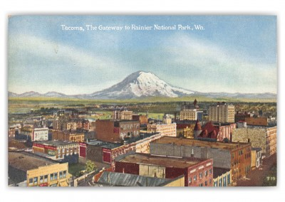 Tacoma, Washington, Gateway to Rainier National Park