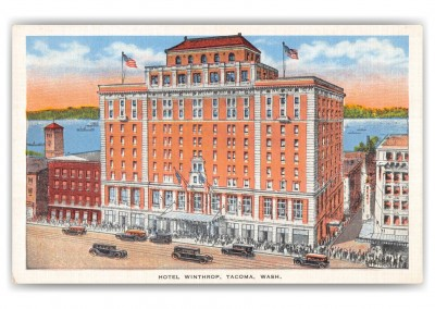 Tacoma, Washington, Hotel Winthrop