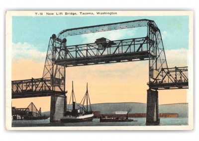 Tacoma, Washington, New Lift Bridge