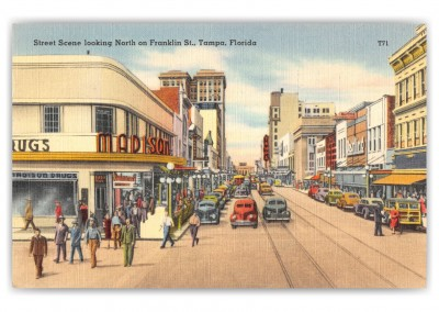 Tampa, Florida, looking north on Franklin Street