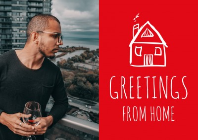 Meridian Design Greetings from home