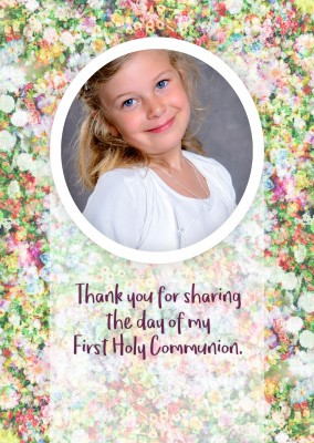 Thank you for sharing the day of my First Holy Communion