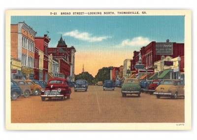 Thomasville, Georgia, Broad Street looking north