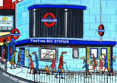 Illustration South London Artist Dan South London Artist Dan Tooting