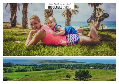 Hiddensee als Panoramabild