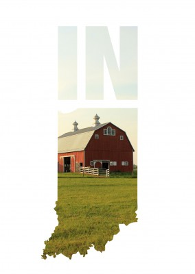 photo barn Indiana USA