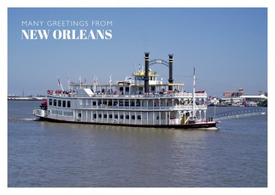 photo of a riverboat on Mississippi river
