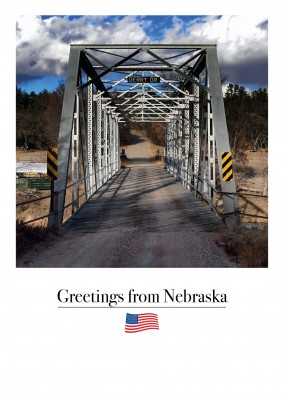 photo of a brigde in Nebraska