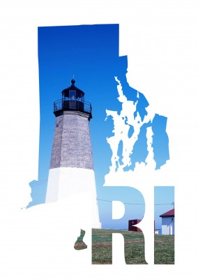photo lighthouse Rhode Island