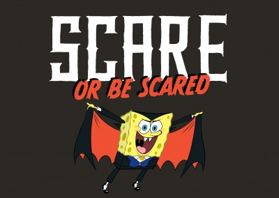 Spongebob vampire - Scare or be Scared