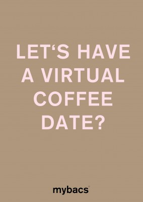 Let's have a virtual coffee date