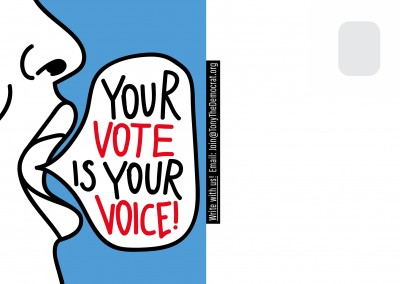 Your vote is your voice!