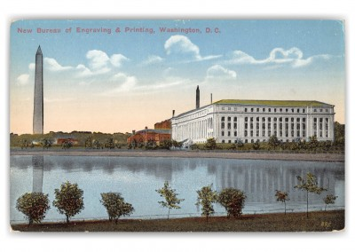Washington DC, Bureau of Engraving and Printing